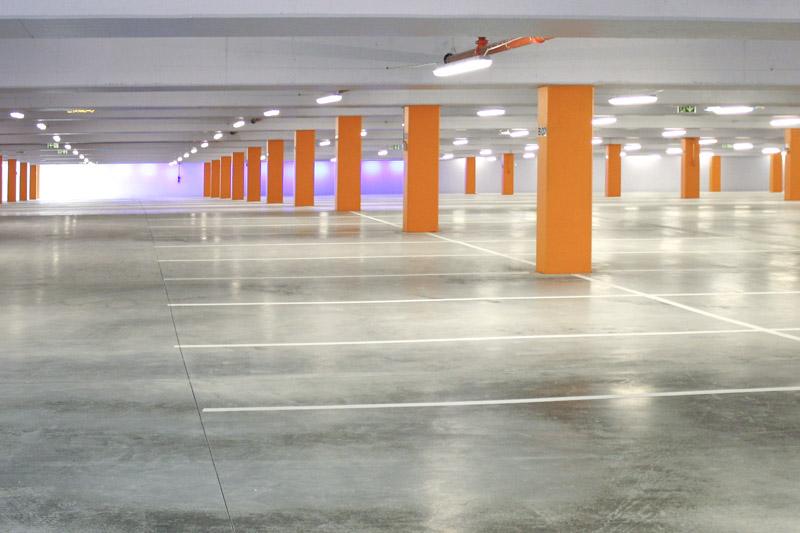 Prosjektering av parkeringshus - Finalebanen