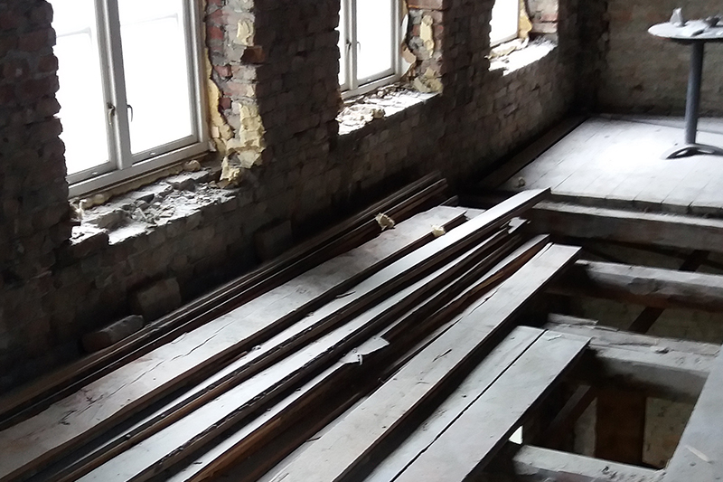 Prosjektering av restaureringsobjekter.