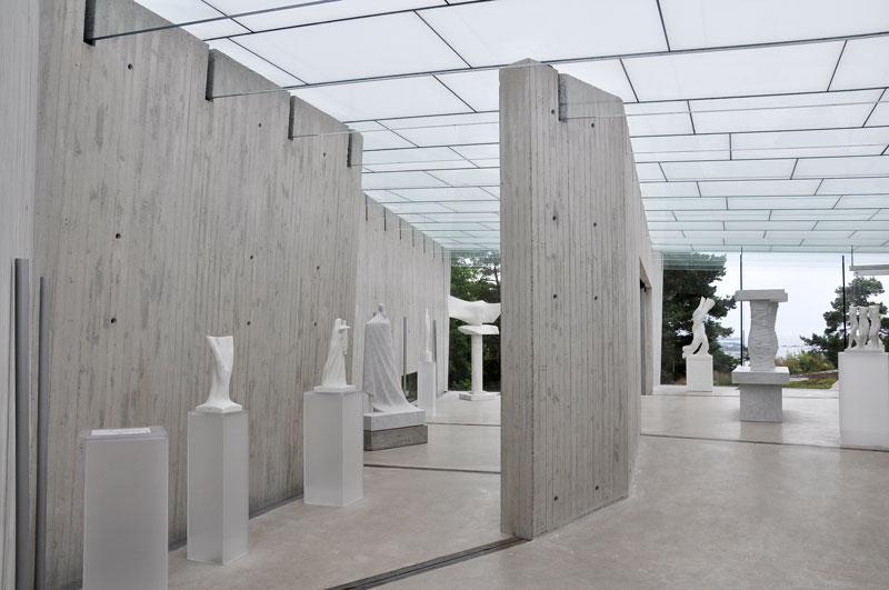 Prosjektering av kunstbygninger. Her har Siv Ing Danielsen prosjektert Midtåsen Skulpturpark.