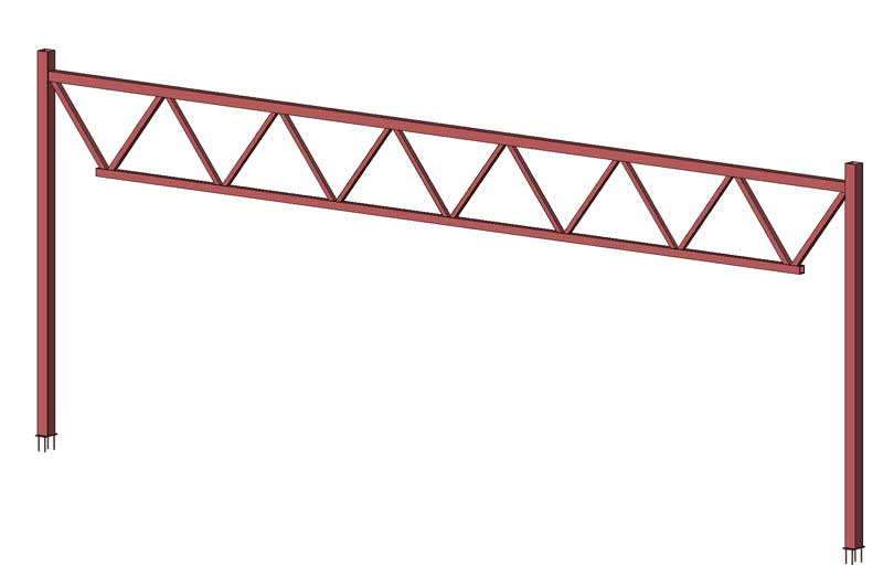Beregning av stålkonstruksjoner.
